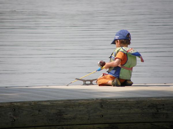 Fishing the Waccamaw River, SC