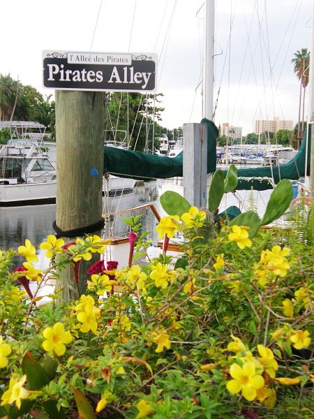 Pirates Alley in Miami, FL