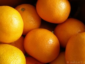 Today's inlet: Tangerines.