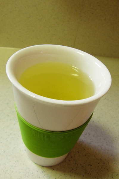 Yellow herbal tea