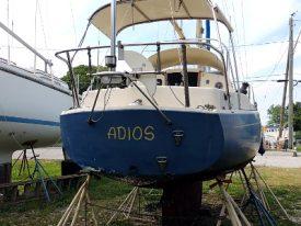 Today's inlet: Adios.