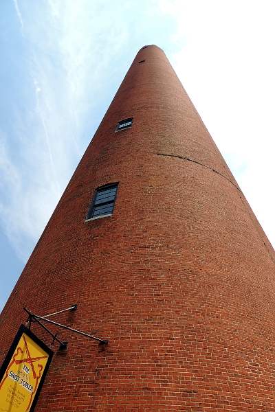 The Phoenix Shot Tower in Baltimore