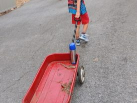 Today's inlet: Red wagon 2.