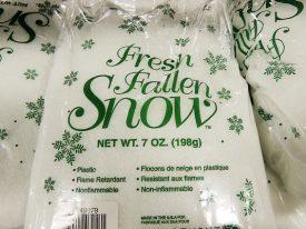 Today's inlet: Fresh fallen snow.