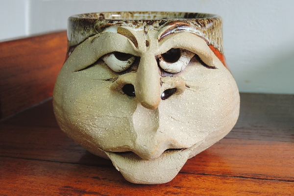 Face Mug by artist Michael Douglas
