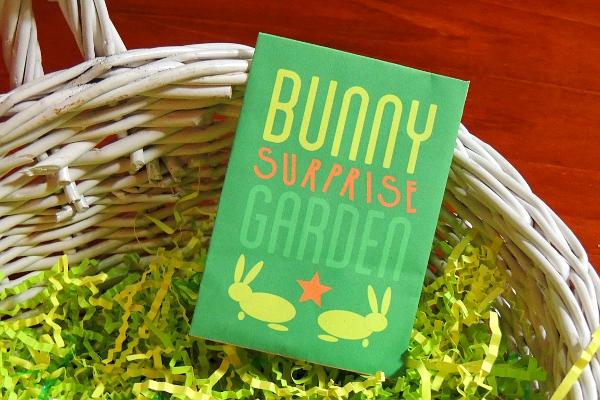 Today's inlet: Bunny Surprise Garden.