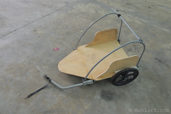 conversion of a bicycle trailer