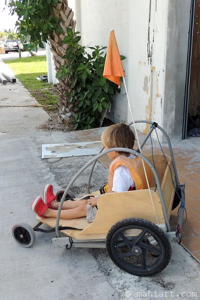 Home made kids car