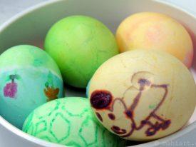 Leftover eggs.
