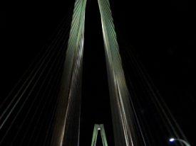 Charleston at night.