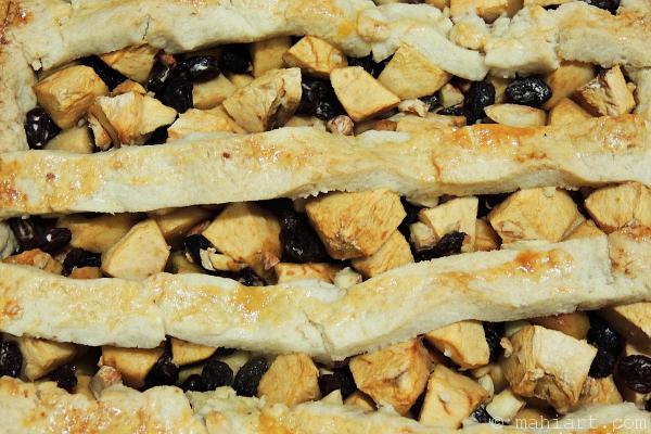 Dutch apple pie.