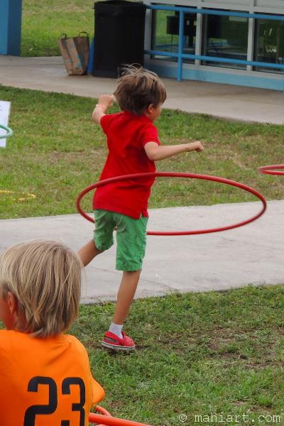 Hoola Hoop Competition