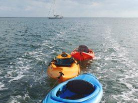 Kayak tow.