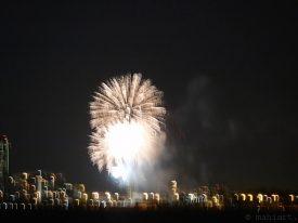 Fireworks over Miami.