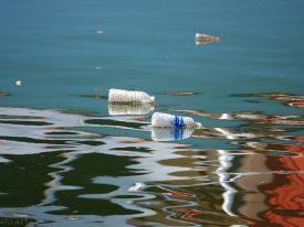 Plastic river.