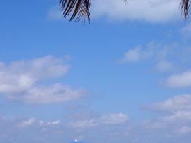 Today's inlet: Playa Norte.