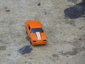Today's inlet: Orange ride.