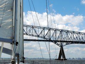 Today's inlet: Key Bridge.