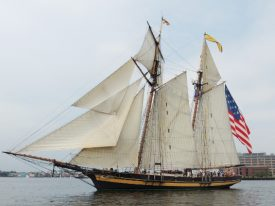Today's inlet: Pride of Baltimore II.