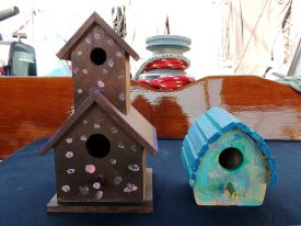 Today's inlet: Bird houses.