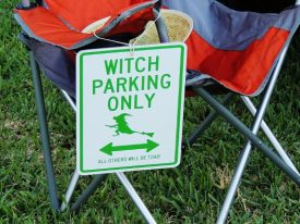 Today's inlet: Witch parking only.
