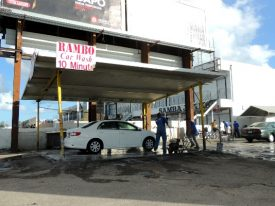 Today's inlet: Rambo Car Wash.