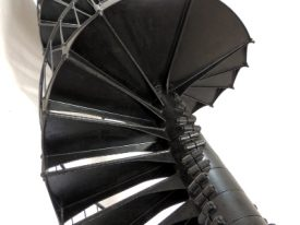 Spiral staircase.
