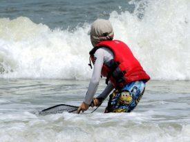 Ocean fishing.