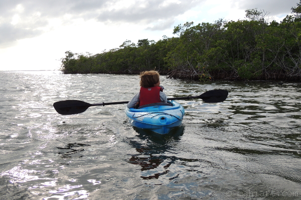 Kayaker.